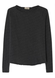 American Vintage Sonoma Long Sleeve Top - Greyish Melange