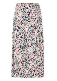 FABIENNE CHAPOT Bobo Printed Wrap Skirt - Cream Citron