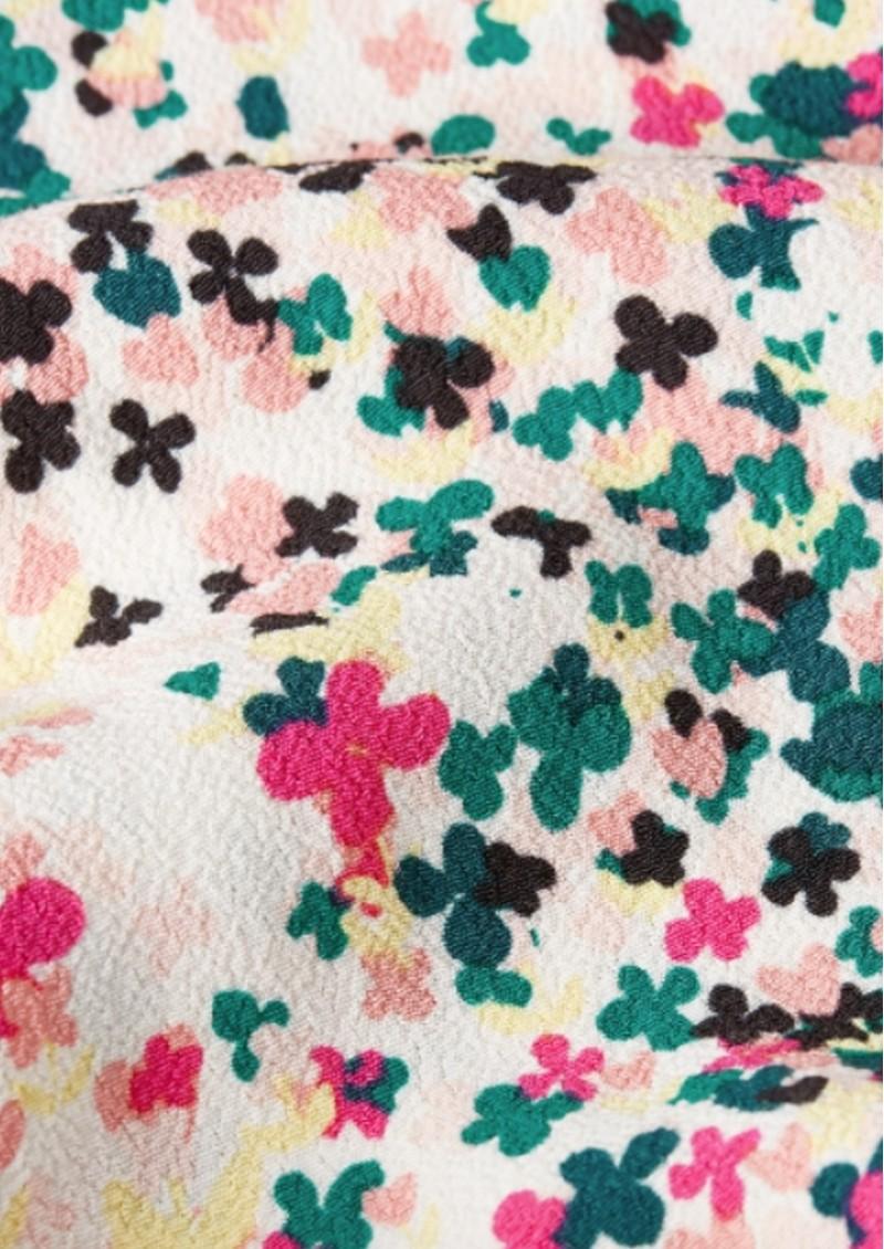 FABIENNE CHAPOT Bobo Printed Wrap Skirt - Cream Citron  main image