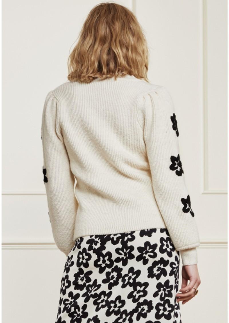 FABIENNE CHAPOT Fenny Pullover - Cream & Black main image