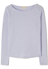 American Vintage Sonoma Long Sleeve Top - Lilac