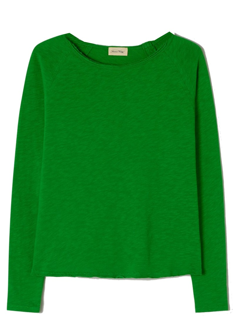 American Vintage Sonoma Long Sleeve Top - Grass main image