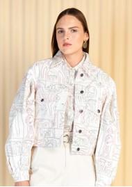 MAGALI PASCAL Jasper Denim Printed Jacket - Jibana