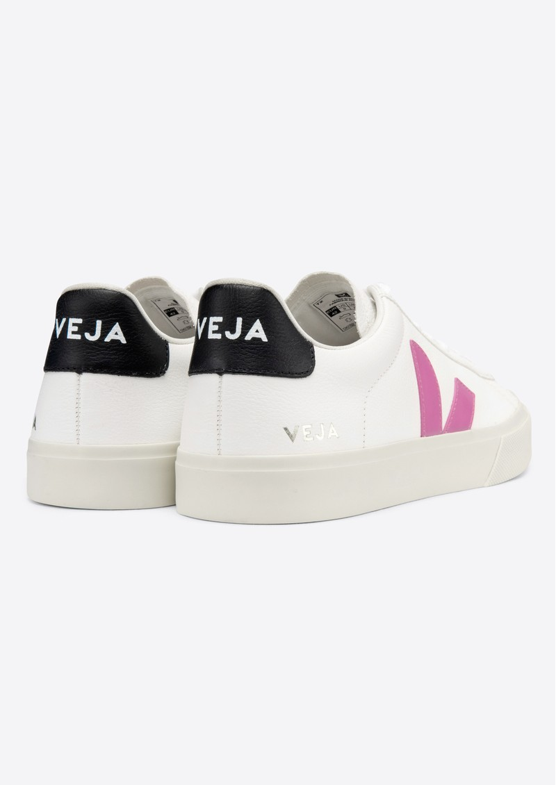 VEJA Campo Leather Trainers - Extra White, Ultraviolet & Black main image