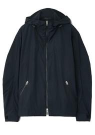 RAG & BONE Penn Nylon Windbreaker Jacket - Black