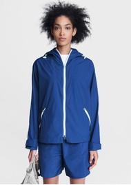 RAG & BONE Penn Nylon Windbreaker Jacket - Blue