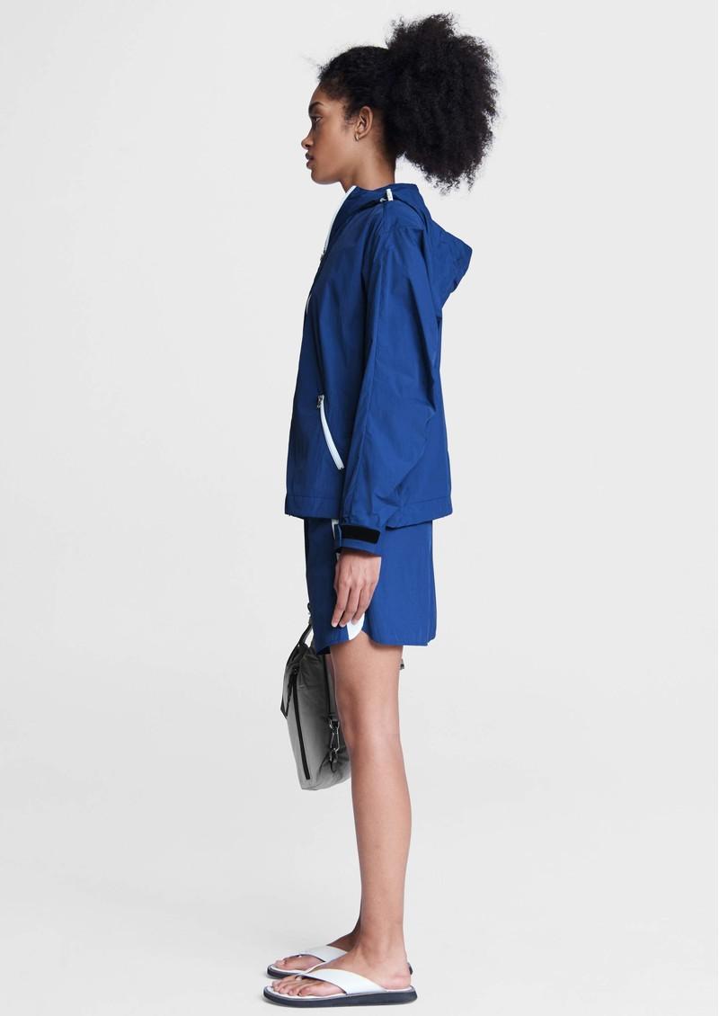 RAG & BONE Penn Nylon Windbreaker Jacket - Blue main image