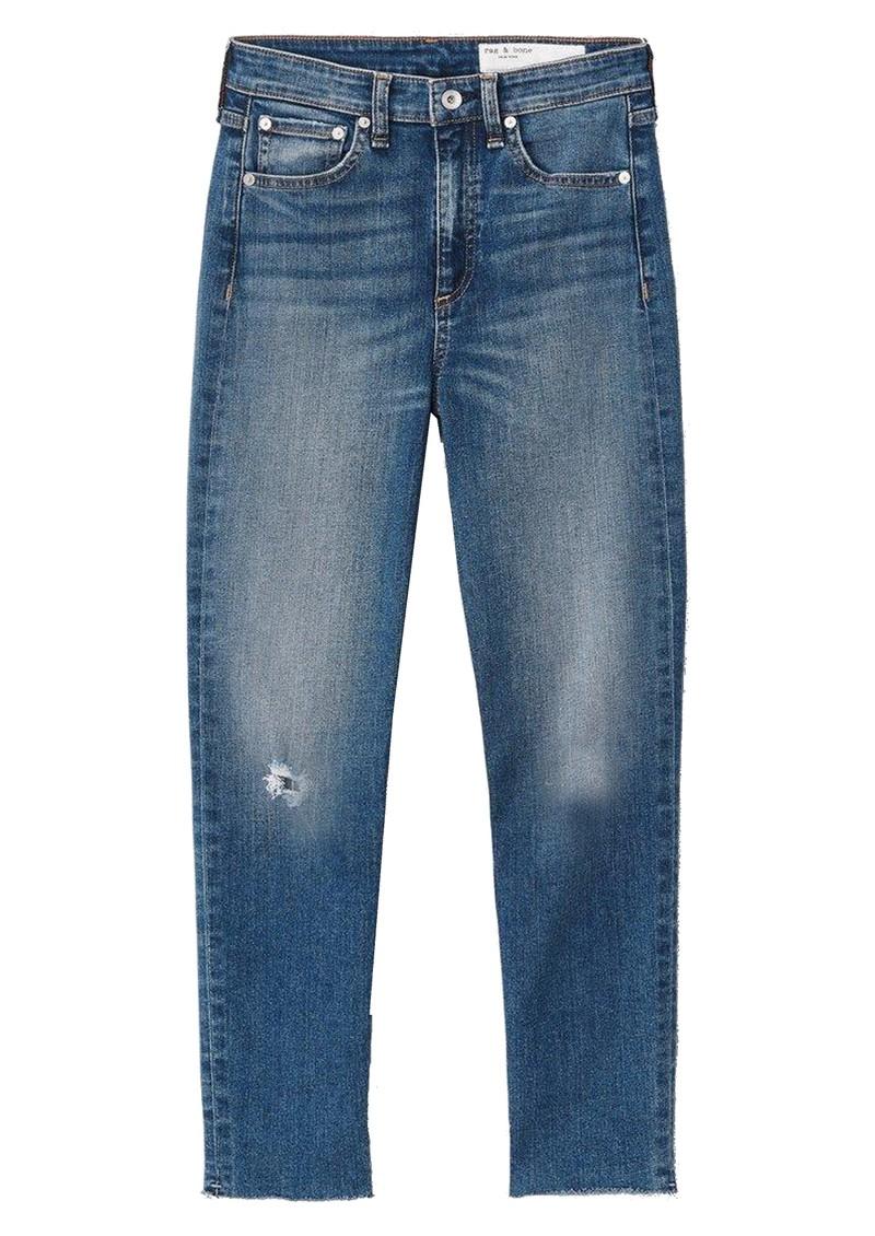 RAG & BONE Nina High Rise Ankle Skinny Jeans - Norwalk main image