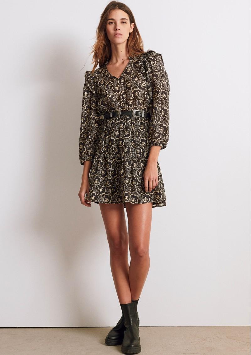 Ba&sh Grazie Dress - Black  main image