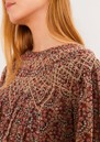 Isaure Cotton Mix Blouse - Greige additional image