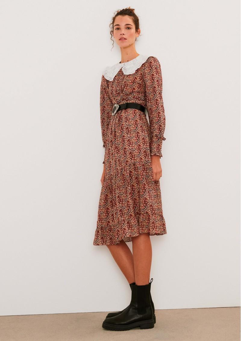 Ba&sh Ines Dress - Greige main image