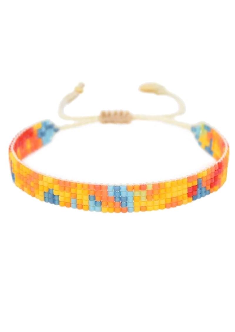 MISHKY Selva Florida Small Beaded Bracelet - Multi main image