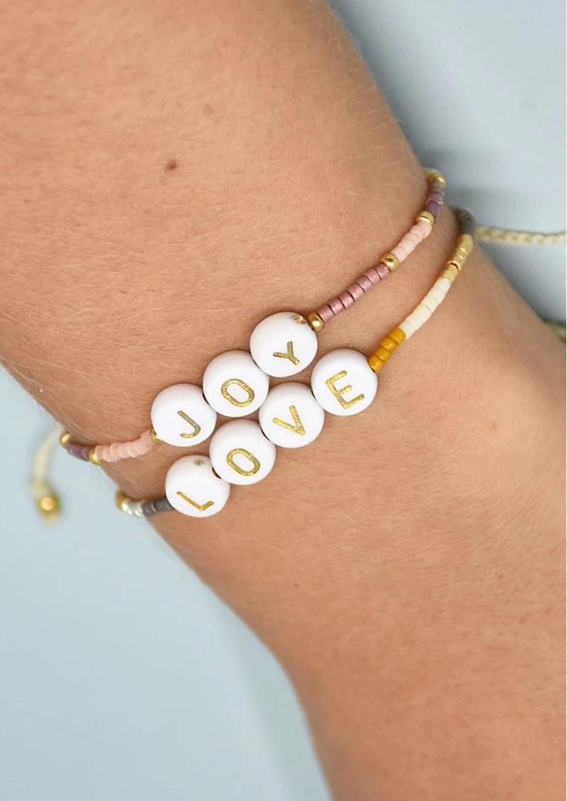 MISHKY Joy Small Beaded Bracelet - Pink main image