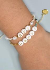 MISHKY Happy 2.0 Small Beaded Bracelet - Gold
