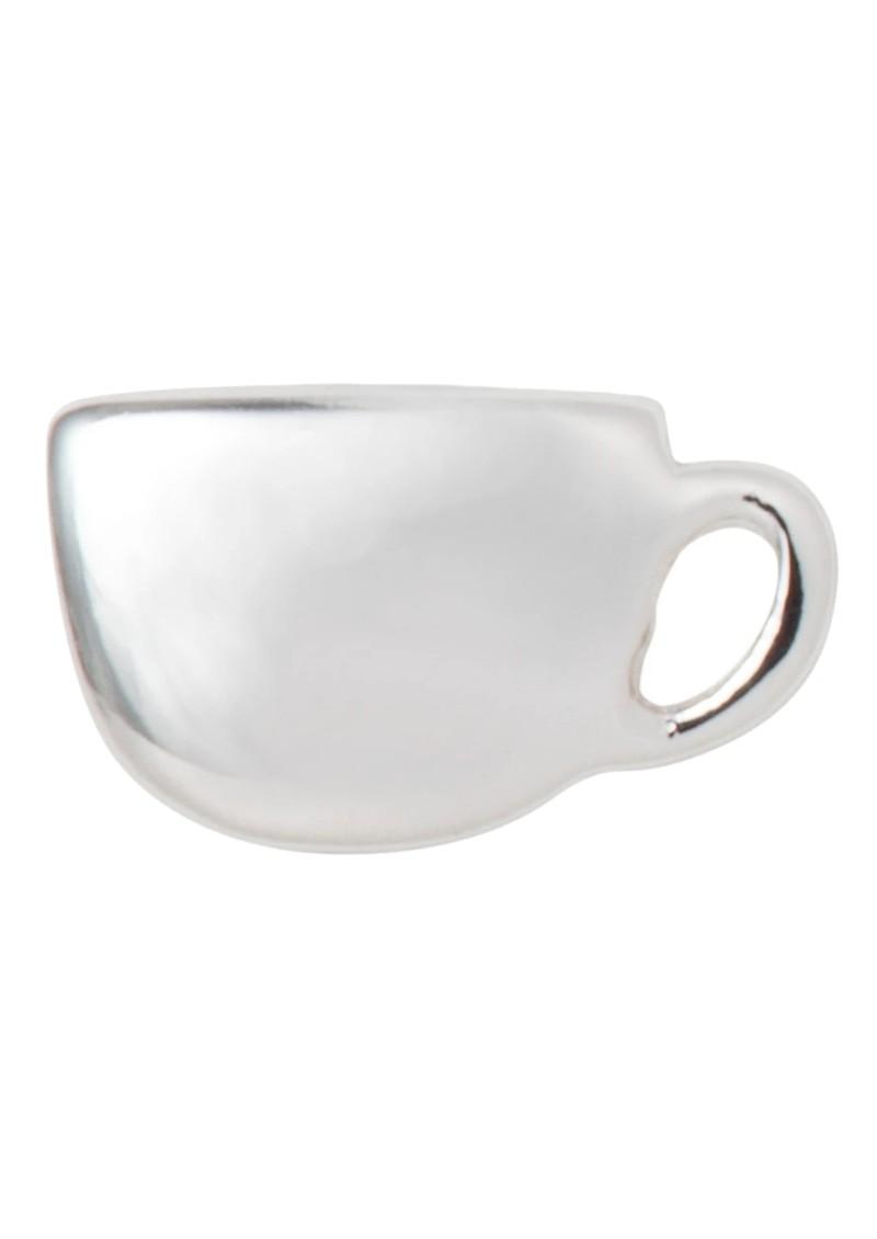 LULU COPENHAGEN Single Date Earring - Silver main image