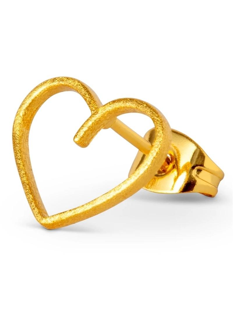 LULU COPENHAGEN Single Happy Heart Earring - Gold main image