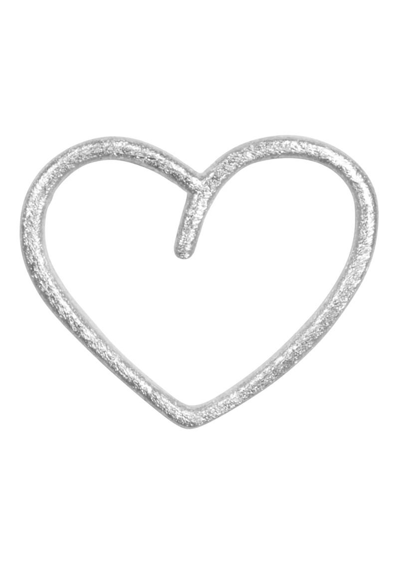 LULU COPENHAGEN Single Happy Heart Earring - Silver main image
