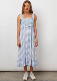 Rails Rumi Linen Mix Dress - Ivory Sky Cherry