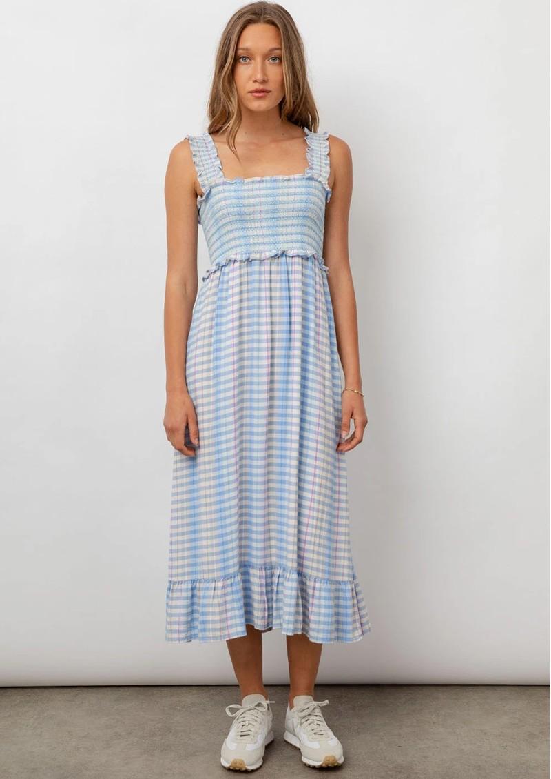 Rails Rumi Linen Mix Dress - Ivory Sky Cherry main image