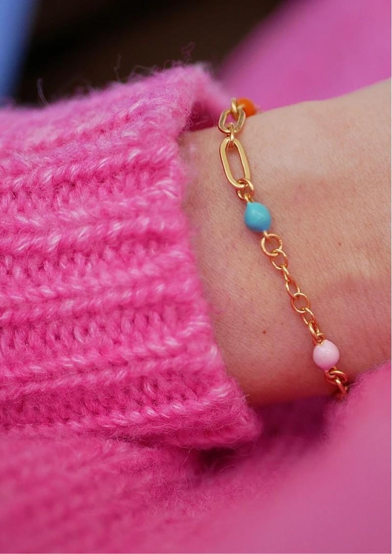 ENAMEL COPENHAGEN Vigga Chain Bracelet - Gold main image