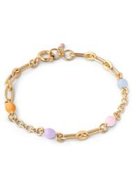 ENAMEL COPENHAGEN Vigga Chain Bracelet - Ocean