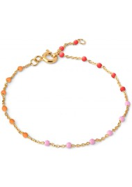 ENAMEL COPENHAGEN Lola Fine Chain Bracelet - Sunrise