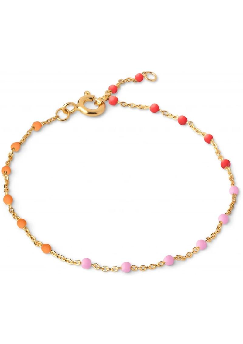 ENAMEL COPENHAGEN Lola Fine Chain Bracelet - Sunrise main image