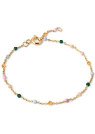 ENAMEL COPENHAGEN Lola Fine Chain Bracelet - Dreamy
