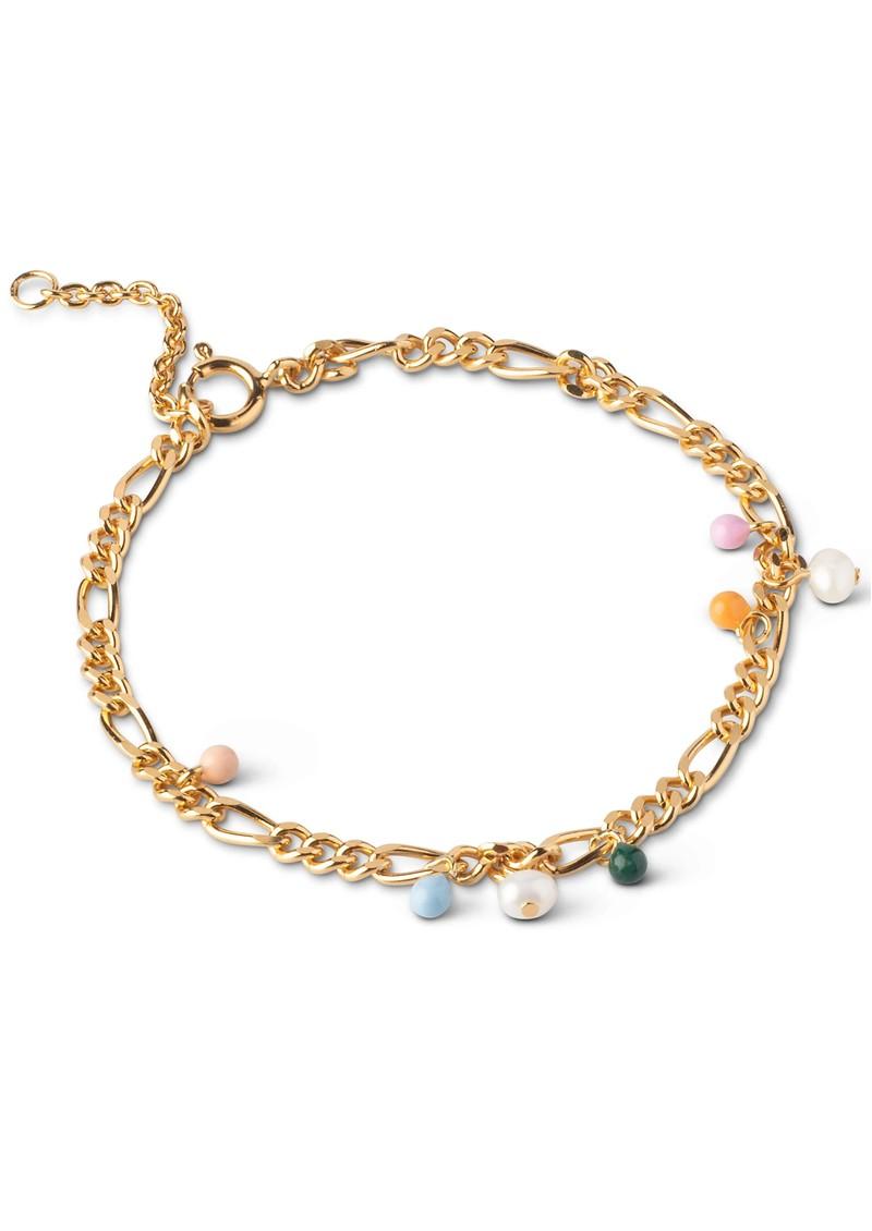 ENAMEL COPENHAGEN Willa Chain Bracelet - Gold main image