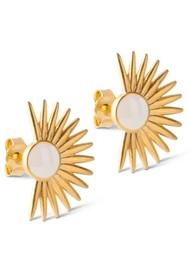 ENAMEL COPENHAGEN Big Soleil Earrings - Daisy