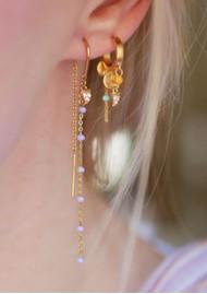 ENAMEL COPENHAGEN Svana Hoop Earrings - Gold