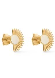 ENAMEL COPENHAGEN Soleil Stud Earrings - Daisy