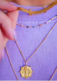 ENAMEL COPENHAGEN Angel Pendant Necklace - Gold