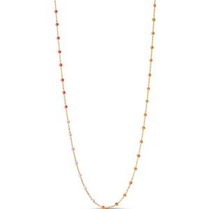 Lola Enamel Necklace - Sunrise
