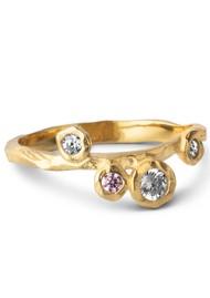 ENAMEL COPENHAGEN Rose Ring - Gold