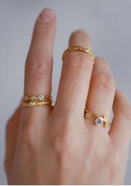 ENAMEL COPENHAGEN Coralie Ring - Gold