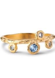 ENAMEL COPENHAGEN Blooming Ring - Gold