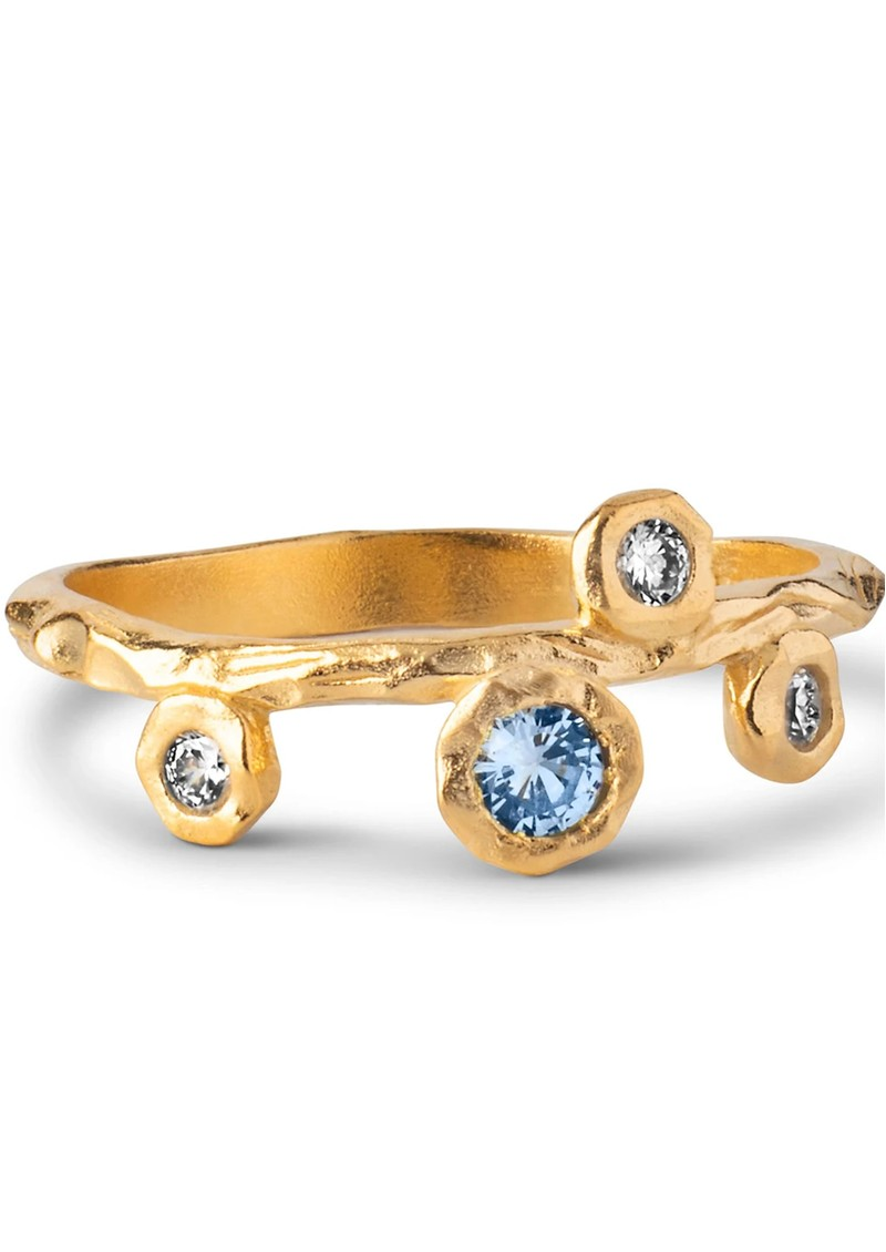ENAMEL COPENHAGEN Blooming Ring - Gold main image
