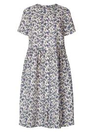 LOLLYS LAUNDRY Aliya Cotton Dress - Creme