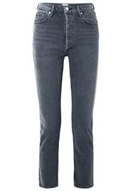 CITIZENS OF HUMANITY Charlotte High Rise Straight Leg Jeans - Whisper