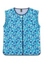Fatma Quilted Cotton Gilet - Light Blue additional image