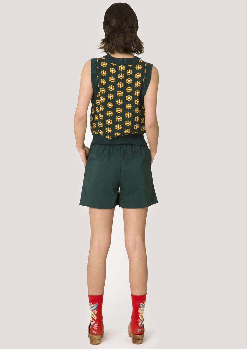 RESUME Ellen Shorts - Deep Green  main image