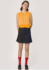 RESUME Feely Knitted Vest - Saffron