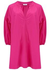 DEVOTION Maro Cotton Dress - Fuschia