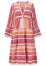Zakar Ella Cotton Embroidered Dress - Fuschia additional image