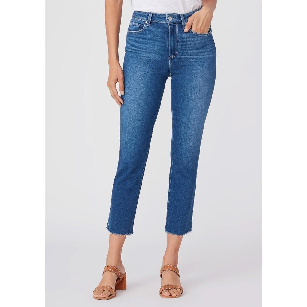 Sarah Slim High Rise Straight Leg Crop Jean - Starcrossed