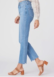 Paige Denim Cindy Ultra High Rise Straight Leg Jeans - Lovesong