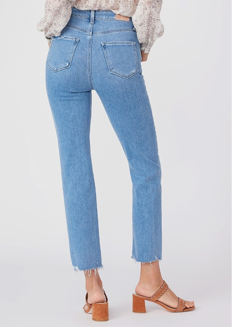 Paige Denim Cindy Ultra High Rise Straight Leg Jeans - Lovesong main image