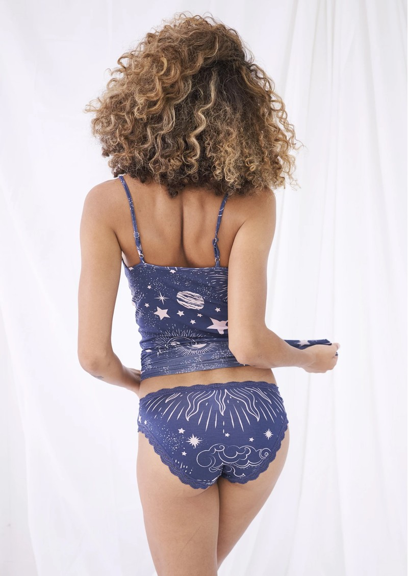 STRIPE & STARE Set of 4 Briefs - To The Moon main image