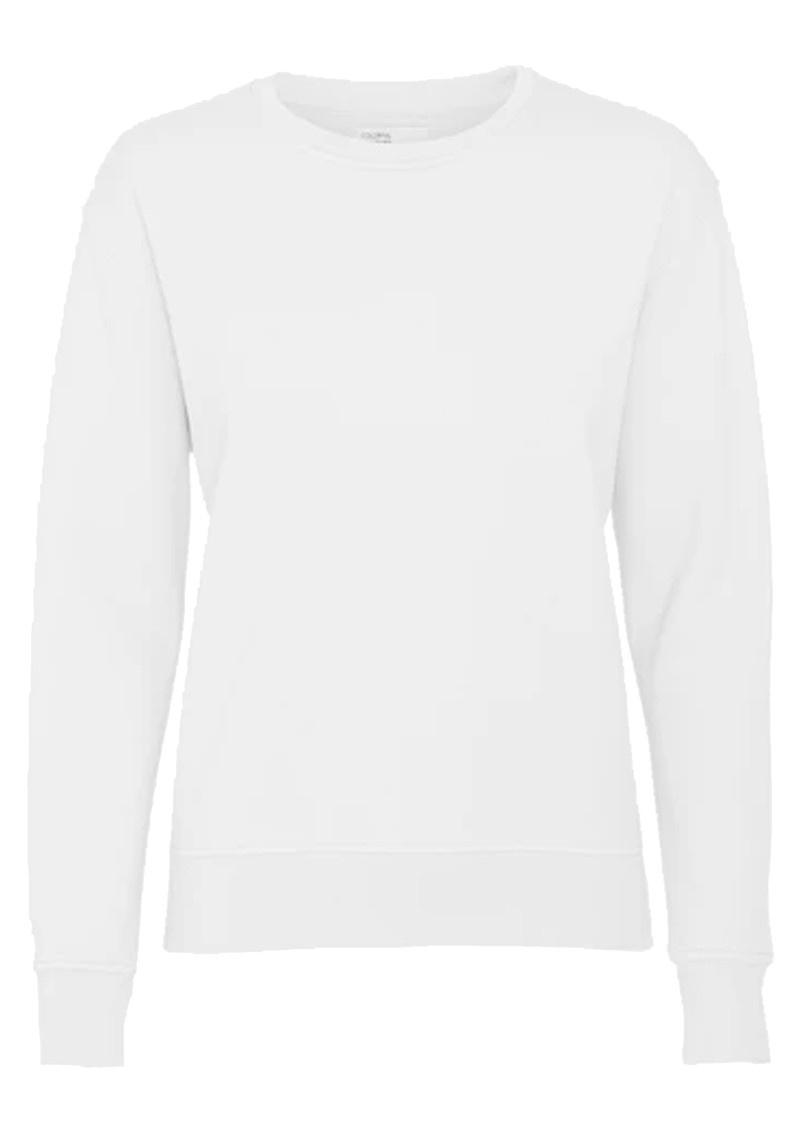 COLORFUL STANDARD Classic Crew Organic Cotton Sweatshirt - Optical White main image